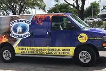 Water Damage Restoration in Weston